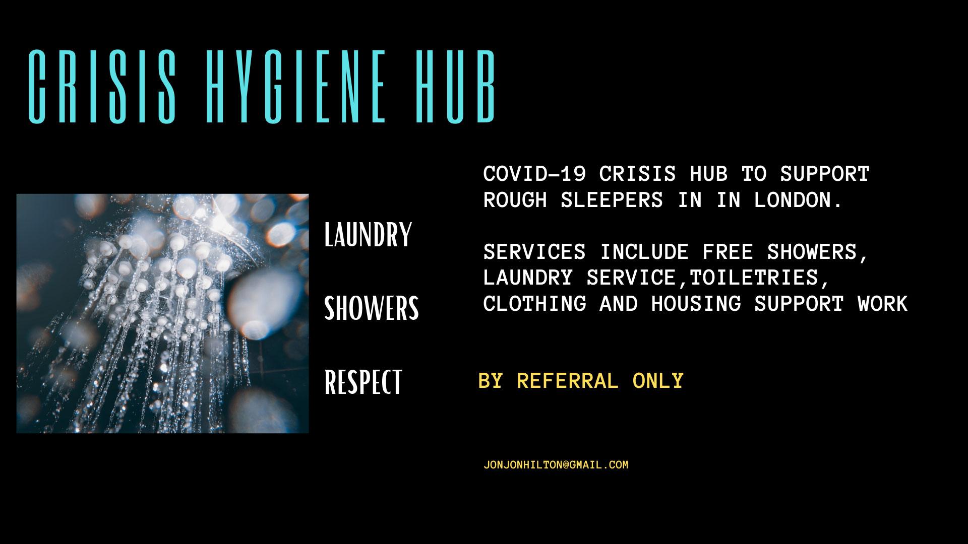 CRISIS HYGIENE HUB 1 1 1