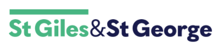 st giles st george logo